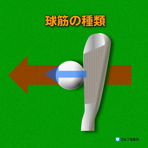ゴルフ/球筋の種類