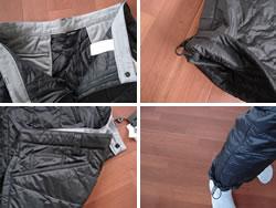 股下調整可能な裾ドローコード