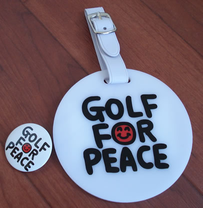 Golf For Peace届きました