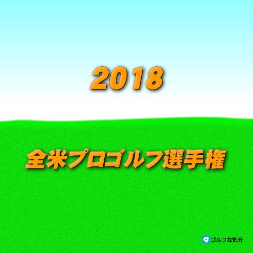 2018年全米プロゴルフ選手権
